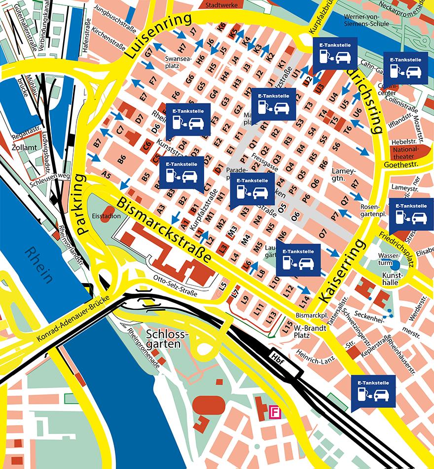 Kostenlos Parken In Mannheim
