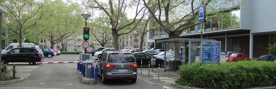 Mannheim Parkplatz