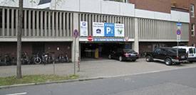 Parken Mannheim Hauptbahnhof