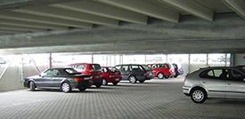 Parkhaus City Airport Mannheim
