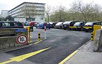 Parkplatz Mulde Collini Center