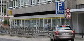Parkhaus N1 in Mannheim