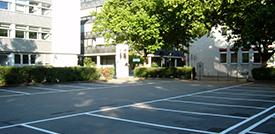 Parken im Zentrum Mannheims