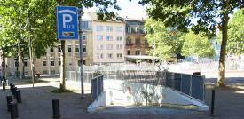Tiefgarage U2 in Mannheim