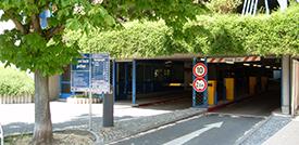 Parken in Schwetzingen