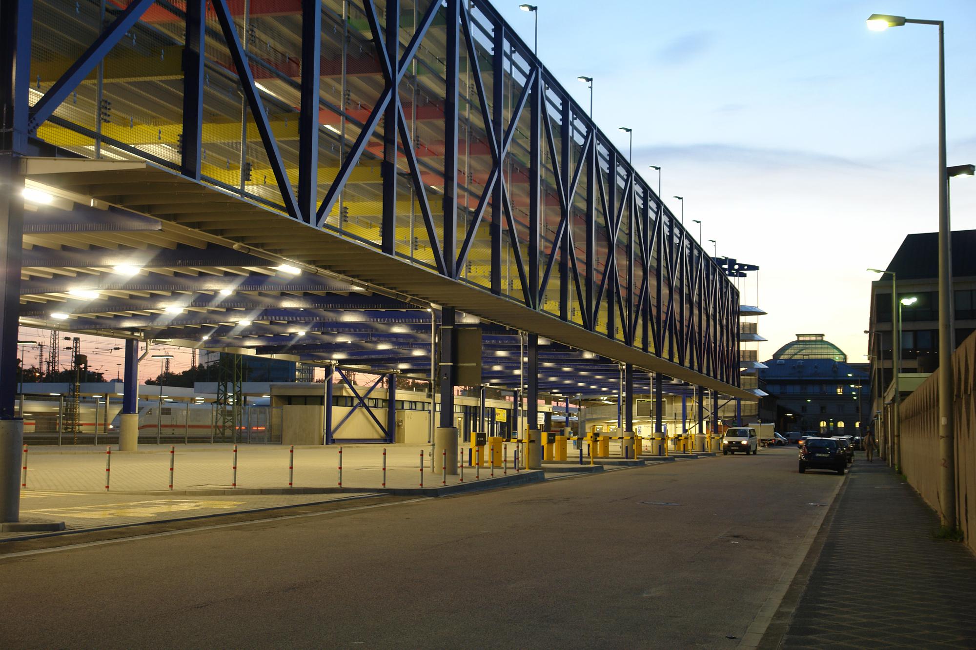 Parkhaus Hauptbahnhof P2 Mannheim